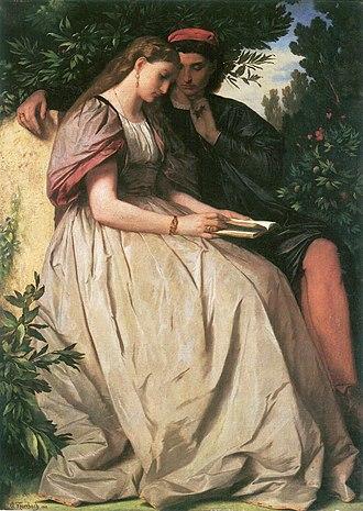 Anselm Feuerbach - Francesca da Rimini und Paolo Malatesta c. 1864