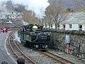 Ffestiniog Railway at Blaenau Ffestiniog.jpg