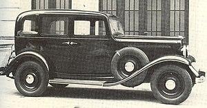 Fiat 518 - Fiat 518 C saloon