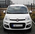 Fiat Panda 1.2 8V Lounge (III) – Frontansicht, 25. Februar 2012, Düsseldorf.jpg