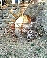 Fiesole - Archäologische Zone - Thermen - Caldarium 2, August 2019.jpg