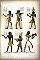 Fig. 12. Ramses VII. Fig. 13. Ramses IX (Ramses IV). Fig.14. Ramses X (Ramses IX). Fig. 15. Amenemses (Amenmesse). Fig. 16. Nahsctefnèb (Nectanebo) (Nectanebo I ). Fig. 17. (NYPL b14291206-425718).jpg