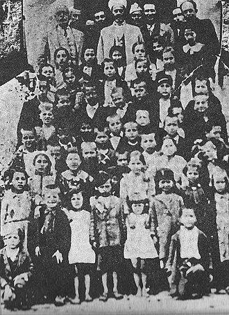 Chameria - Albanian school of Filiates in 1942–44