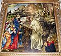 Filippino Lippi, Apparizione della Vergine a san Bernardo, 1482-86, 03.JPG