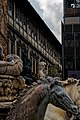 Firenze - Florence - Piazza della Signoria - View South on Neptune Fountain, Judith and Holofernes & David.jpg