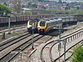 First Great Western HST and Virgin Voyager at Bristol Parkway 2006-05-03 02.jpg
