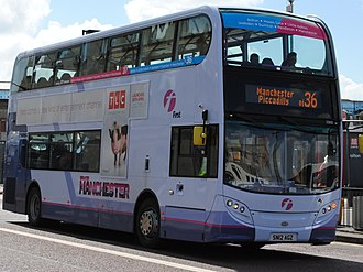 First Greater Manchester - Alexander Dennis Enviro 400 on route 36
