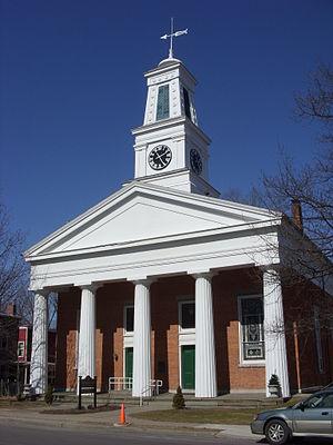 First Presbyterian Church of Ulysses - First Presbyterian Church of Ulysses, March 2009