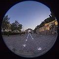 Fisheye lenses-HDR Technique-Qur'an Gate-Shiraz-Iran عکاسی با لنز فیش آی- تکنیک اچ دی آر کمرا- دروازه قرآن شیراز 02- نورپردازی در شب (cropped).jpg