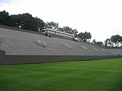 c702b5a0 Visitor side of football stadium (2008). Main article: Holy Cross Crusaders  football