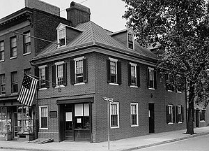 Flag House & Star-Spangled Banner Museum - Flag House in 1936