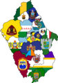 Flag map of provinces of Ancash.png