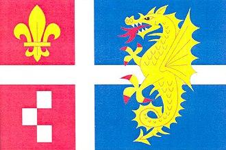 Erpužice - Image: Flag of Erpužice