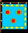 Flag of Kamianka-Buzka.png