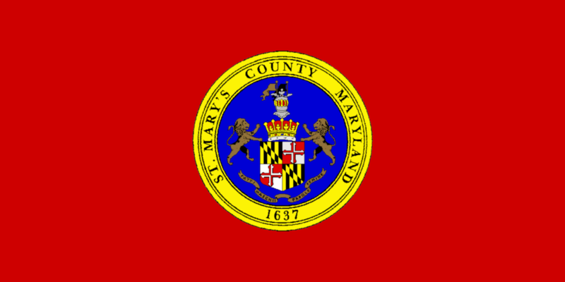 File:Flag of St. Mary's County, Maryland.png