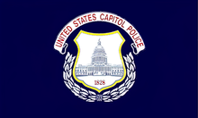 Flago de la Usono Kapitola Police.png