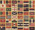 Flags of the Marshal Foch victory-harmony banner June 8 1919.jpg