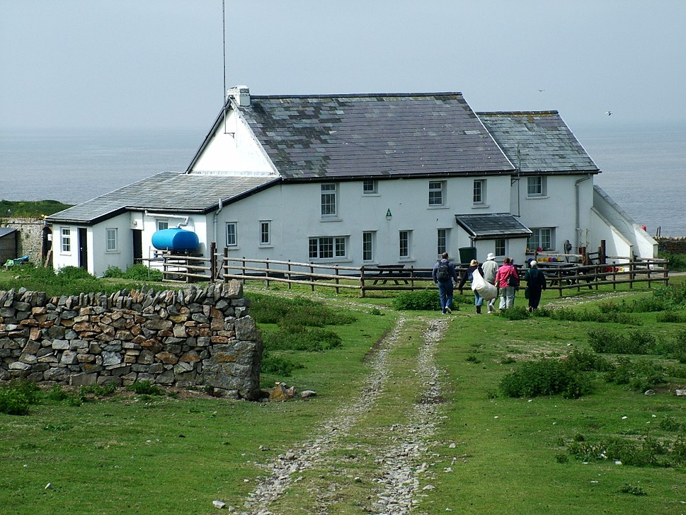 Flat Holm Farm House