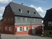 Flemings Geburtshaus in Hartenstein (Quelle: Wikimedia)