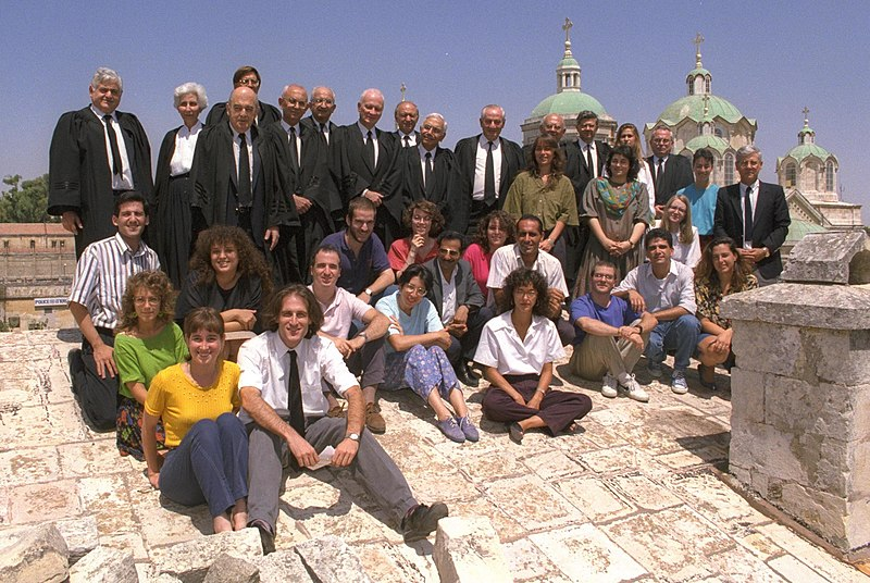 Flickr - Government Press Office (GPO) - THE SUPREME COURT JUSTICES AND THEIR LAW CLERKS.jpg