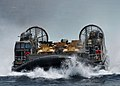 Flickr - Official U.S. Navy Imagery - A landing craft air cushion returns to the welldeck..jpg