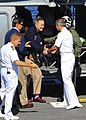 Flickr - Official U.S. Navy Imagery - Former President George H.W. Bush arrives aboard the aircraft carrier USS George H.W. Bush..jpg