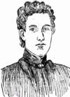 Pen portrait of Florence Fuller, 1897