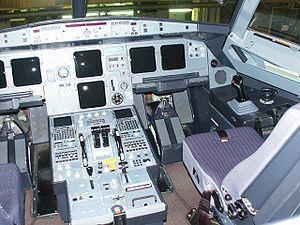 Flight control modes - Airbus A321 Cockpit