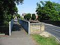 Footbridge and roadbridge on St Richard's Road - geograph.org.uk - 801411.jpg