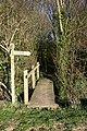 Footbridge near Hempnalls Hall - geograph.org.uk - 388545.jpg