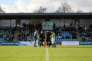 Footes Lane multi-use sports stadium in Saint Peter Port, Guernsey