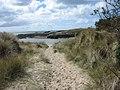 Footpath from Plas Cymyran to Traeth Cymyran beach - geograph.org.uk - 764902.jpg
