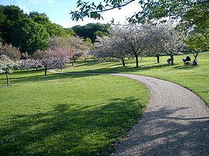 Mindeparken - Image: Forår i Mindeparken