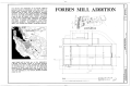 Forbes Mill Addition, Church and East Main Streets, Los Gatos, Santa Clara County, CA HABS CAL,43-LOSGA,1- (sheet 1 of 2).png