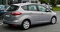 Ford C-Max 1.6 TDCi Trend (II) – Heckansicht, 30. Juli 2011, Mettmann.jpg