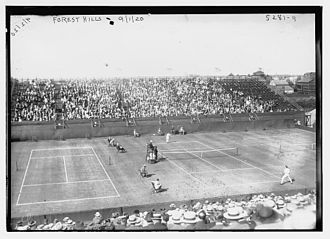 1920 U.S. National Championships (tennis) - Forest Hills men's singles match on September 1, 1920