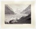 Fotografi av glaciären Mer de Glace - Hallwylska museet - 103137.tif