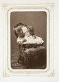 Fotografiporträtt på barn - Hallwylska museet - 107839.tif