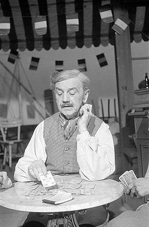 Hans Leibelt - Hans Leibelt in der Rolle des César von Marcel Pagnol