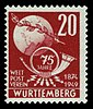 Fr. Zone Württemberg 1949 51 Weltpostverein.jpg