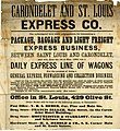 Fragment of a circular of the Carondelet and St. Louis Express Co., ca. 1868.jpg