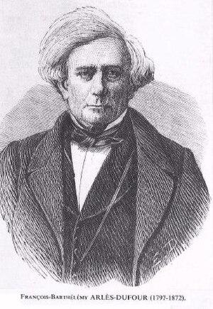 École centrale de Lyon - François Barthélemy Arlès-Dufour, co-founder of the École centrale de Lyon