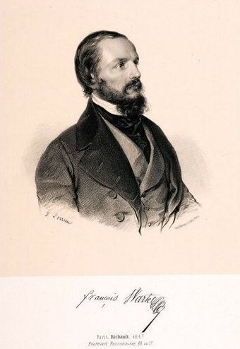Francois Wartel sang Nearque at the 1840 premiere Francois Wartel by F Sorrieu - Gallica.jpg