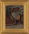Francis Davis Millet - Room Interior with Winding Staircase - 2012.14 - Smithsonian American Art Museum.jpg