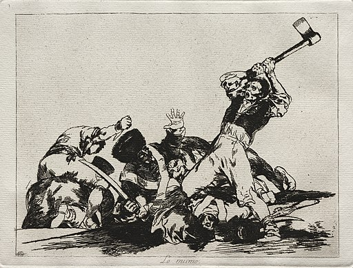 Francisco de Goya - The Horrors of War- The Same - 1922.519 - Cleveland Museum of Art (cropped)