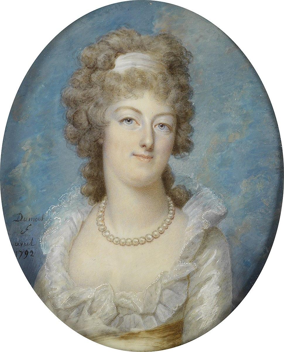 Francois Dumont Miniatur Marie Antoinette 1792