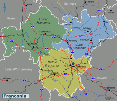 Franconia travel guide at wikivoyage regionsedit sciox Image collections