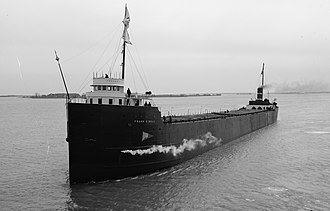 Turbo-electric transmission - The SS Frank C. Ball was the first commercial vessel on the Great Lakes to use a steam powered turbo-electric engine