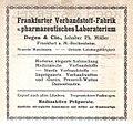 Frankfurt-Bockenheim, Rödelheimer Landstraße 21, Frankfurter-Verbandstoff-Fabrik C. Degen & Cie., 1911.jpg