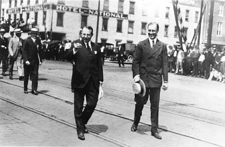Cox and Roosevelt in Ohio, 1920